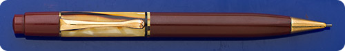 Pelikan #100N - Pencil - Tortoiseshell Cap - Red Barrel - Button Activated -