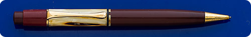 Pelikan #100N - Tortoiseshell Pencil - Gold Filled Trim