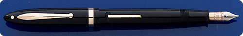 Sheaffer Lifetime Balance - Black - Lever Fill - Gold Filled Trim