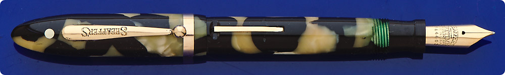 Sheaffer Lifetime - Balance Pen - Black And Pearl - Lever Fill - Gold Filled Trim