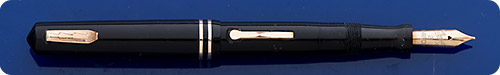 Wahl Eversharp #2 Size - Black  - Lever Fill - Gold Filled Trim
