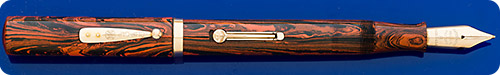 Waterman #58 Woodgrain - Hard Rubber - Gold Filled Trim - Lever Fill - Great Writer