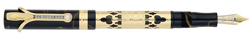 Visconti Limited Editions - Venetia - Year: 2010 - Gold Vermeil with Desk Set - Edition: 99 Fountain Pens - Fountain Pen