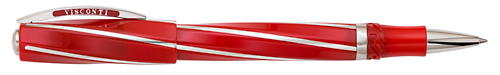 Visconti Limited Editions - Red Divina - Year: 2014 - Red/Sterling Silver - Edition: 40 Rollerballs - Oversized Rollerball
