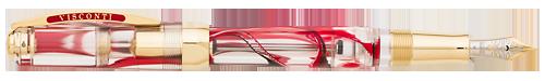 Visconti Limited Editions - Opera Master Demonstrator - Year: 2015 - Crimson Tide - Edition: 70 Fountain Pens - Fountain Pen