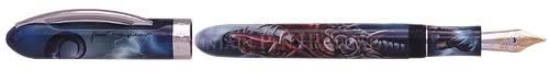 Visconti Limited Editions - Dragon - Year: 2000 - Hand-Painted Lucite - Edition: 888 - Fountain Pen