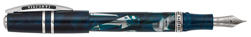 Visconti Limited Editions - Homo Sapiens Demonstrator - Year: 2014 - Crystal Swirls  - Edition: 1000 Fountain Pens - Fountain Pen