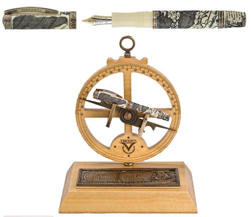 Visconti Limited Editions - Amerigo Vespucci - Year: 2012 - Fountain Pen  - Edition: Aggregate 500 Fountain Pens  - Fountain Pen