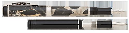 Visconti Limited Editions - Millionaire Luxury - Year: 2015 - Portoro Black Marble  - Edition: 988 Pens - Fountain Pen - Rollerball Convertible
