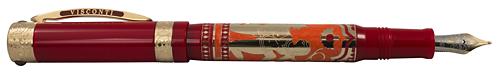Visconti Limited Editions - Erotic Art - Year: 2015 (Reg: $3,750) - Kamasutra - Edition: 388 Total Fountain Pens & Rollerballs  - Fountain Pen