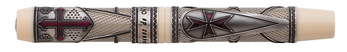 Visconti Limited Editions - Jacques de Molay - Year: 2014 - Rollerball  - Edition: 700 Aggregate Fountain & Rollerballs - Rollerball