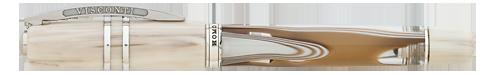 Visconti Limited Editions - Homo Sapiens Bronze Swirl - Year: 2018 - Bronze Demonstrator   - Edition: 888 - Rollerball