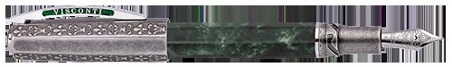 Visconti Limited Editions - Medici il Magnifico - Year: 2019 - Green Levanto Marble - Edition: 188 - Fountain Pen