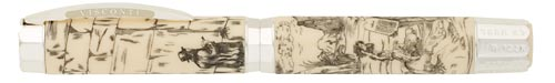 Visconti Limited Editions - Judaic Bible - Year: 2008 - Sterling - Edition: 999 Fountain Pens - Fountain Pen