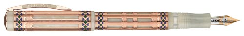 Visconti Limited Editions - Romanica - Year: 2006 - Vermeil(Gold Plating over Sterling) - Edition: 1,000 Pens - Fountain Pen