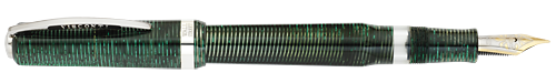 Visconti Limited Editions - Wall Street Celluloid - Year: 2006 - Green; 23Kt Palladium  Nib: Power Filler - Edition: 4000 Pens - Fountain Pen