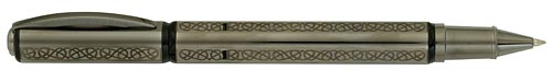 Visconti Limited Editions - Metropolis Sterling Silver Gordian Knot - Year: 2009 - Sterling Silver/Gun Metal Finish - Edition: 188 Rollerballs - Rollerball