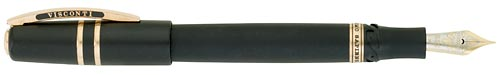 Volcanic Rock finish - Oversized Fountain Pen - Bronze Trim  (Reg: $775) shown