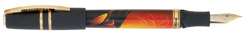 Visconti Limited Editions - Homo Sapiens Mazzi - Year: 2010 - Volcanic Rock - Edition: 388 Fountain Pens - Fountain Pen