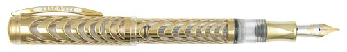 Visconti Limited Editions - Ripple - Year: 2004  - 18kt Gold - Edition: 199 Pens - Fountain Pen
