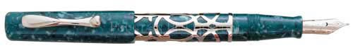 Visconti Limited Editions - Uffizi Sterling - Year: 1994 - Edition: 500 Pens - Sterling Fountain Pen