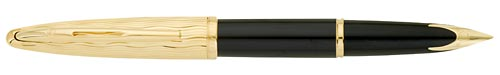 Black/Gold finish - Fountain Pen (18kt Nib) shown