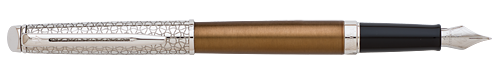 Lux Bronze   finish - Fountain Pen shown