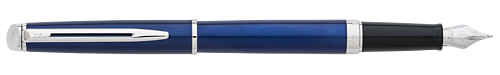 Bright Blue finish - Fountain Pen  shown