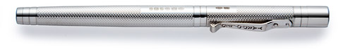 Sterling Silver Barley finish - Rollerball shown