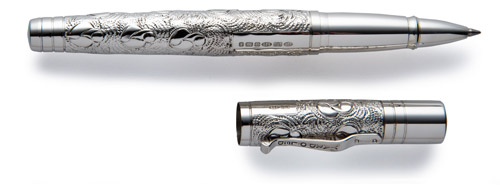 Grand finish - Rollerball shown
