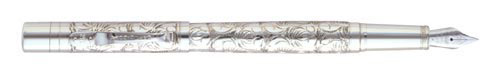Sterling Silver Victorian finish - Fountain Pen shown
