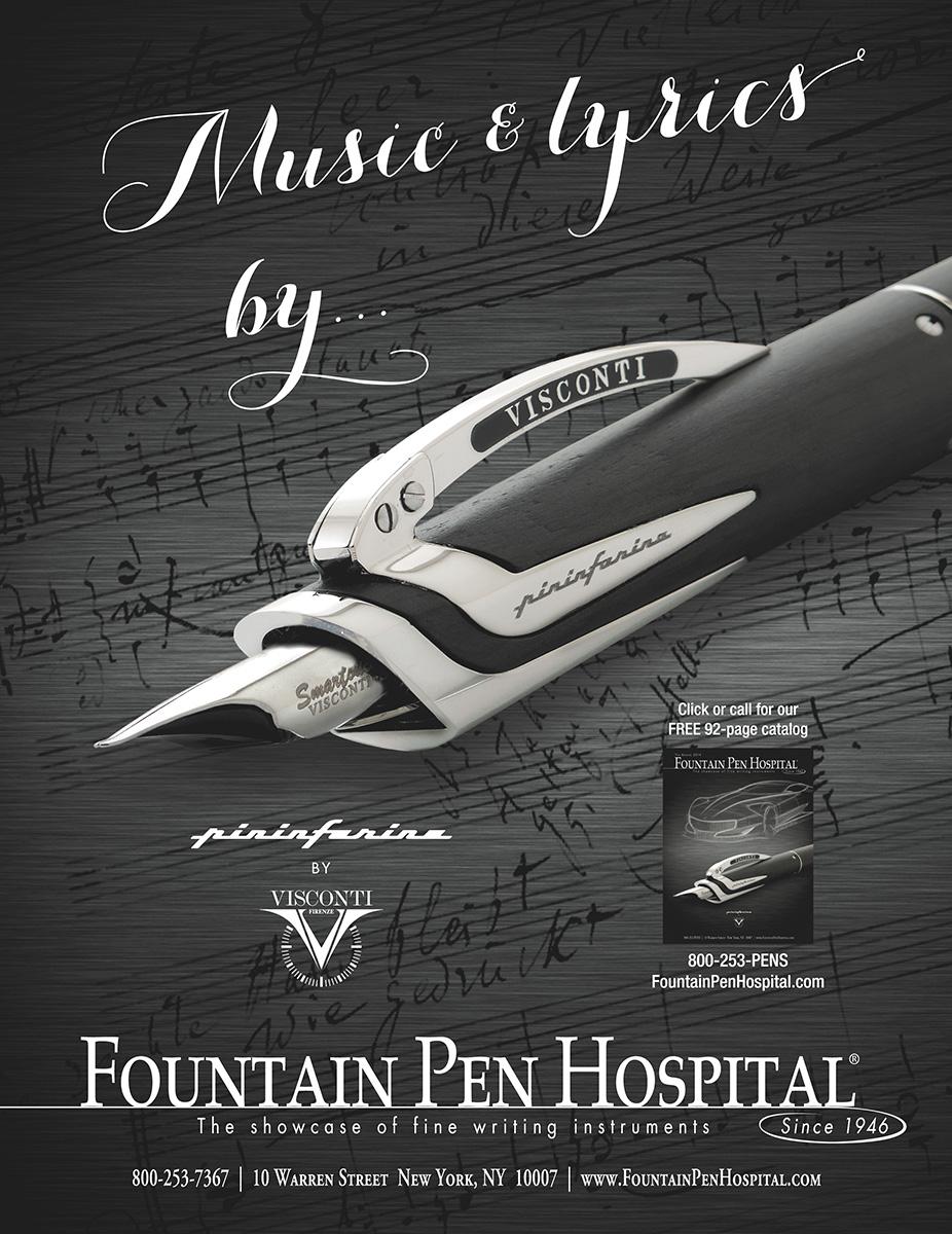 Fountain Pen Hospital Showcase of fine writing instruments